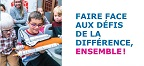 Image Dépliant AQPEHV « Faire face aux défis de la différence ensemble ! »