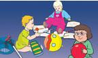Image Parents et services de garde - Guide pour l'inclusion des enfants ayant une déficience visuelle